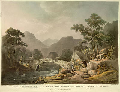 Bible Photograph - Pont Yr. Eden by British Library