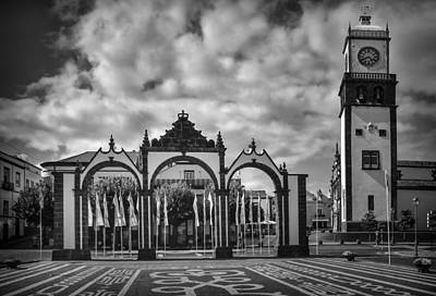 Eduardo Tavares Royalty-Free and Rights-Managed Images - Ponta Delgada Gates by Eduardo Tavares