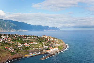 Madeira Photograph - Ponta Delgada, Madeira, Portugal by Peter Adams
