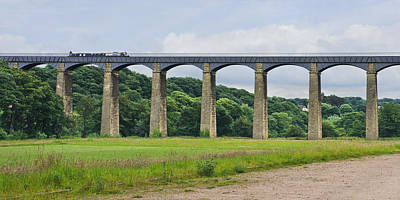 Photograph - Pontcysyllte Aqueduct Wales by Jane McIlroy