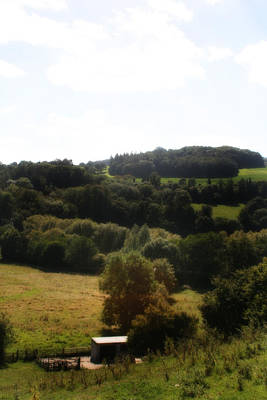 Outerspace Patenets Rights Managed Images - Pontcysyllte Countryside Royalty-Free Image by Doc Braham