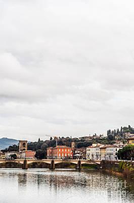 Photograph - Ponte Alle Grazie by Luis Alvarenga