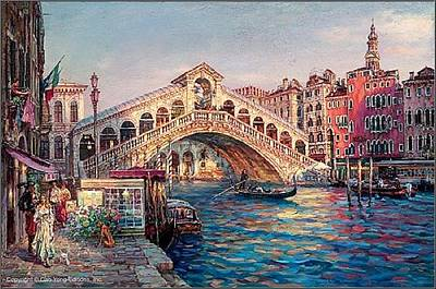 Painting - Ponte Di Rialto by Cao Yong