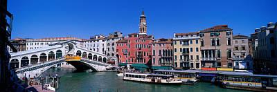 Ponte Rialto Photograph - Ponte Di Rialto Venice Italy by Panoramic Images