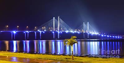 Photograph - Ponte Estaiada De Aracaju - Construtor Joao Alves by Carlos Alkmin