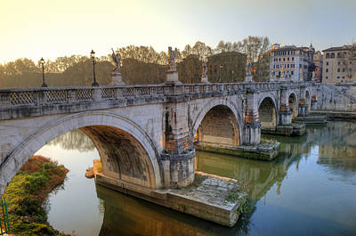 Photograph - Ponte Sant'angelo  by Mick House
