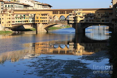 Photograph - Ponte Vecchio Florence by Mary-Lee Sanders