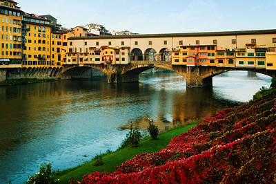 Photograph - Ponte Vecchio by John Galbo