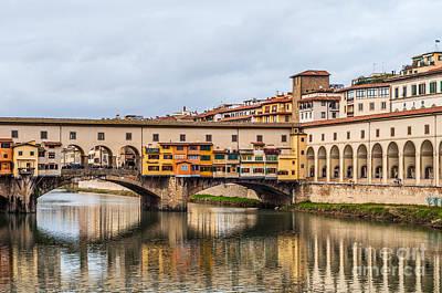 Photograph - Ponte Vecchio by Luis Alvarenga