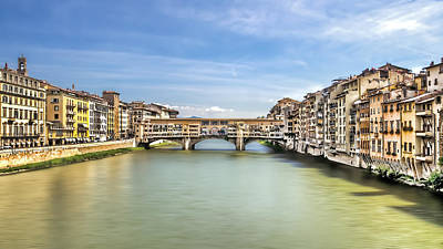 Photograph - Ponte Vecchio by Maria Coulson