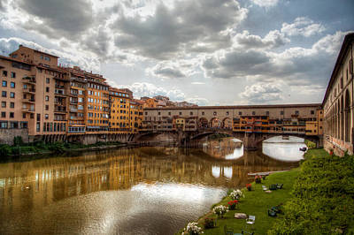 Photograph - Ponte Vecchio by Natasha Bishop