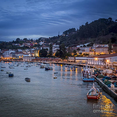 Spain Photograph - Pontedeume From The Iron Bridge Galicia Spain by Pablo Avanzini