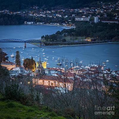 Photograph - Pontedeume From Vista Alegre Galicia Spain by Pablo Avanzini