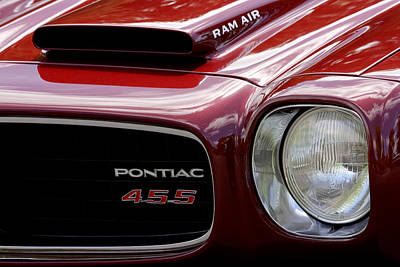 Photograph - Pontiac 455 by Wes and Dotty Weber
