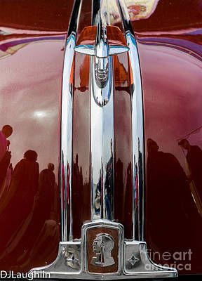 Photograph - Pontiac Chieftain Hood Ornament  by DJ Laughlin