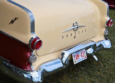 Art Print featuring the photograph Pontiac Classic Car by Mick Flynn