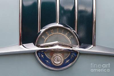 Photograph - Pontiac Emblem by Dennis Hedberg