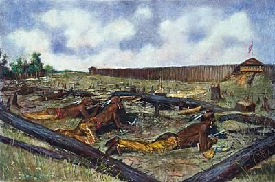 Pontiac Fort Detroit Art Print