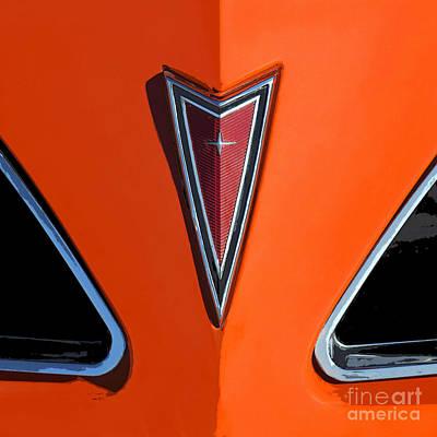 Photograph - Pontiac Logo by Elena Nosyreva