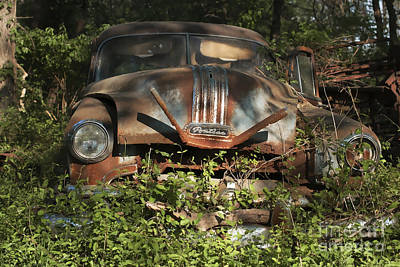 Photograph - Pontiac Planted by Terry Rowe