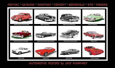 Painting - Pontiac Poster by Jack Pumphrey