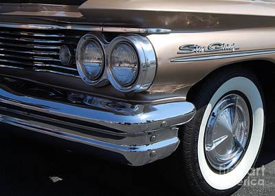 Photograph - Pontiac Star Chief Closeup by Mark Spearman