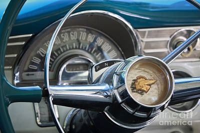Photograph - Pontiac Steering Wheel by Dennis Hedberg