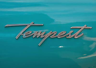 Pontiac Tempest Logo Art Print by Charlette Miller