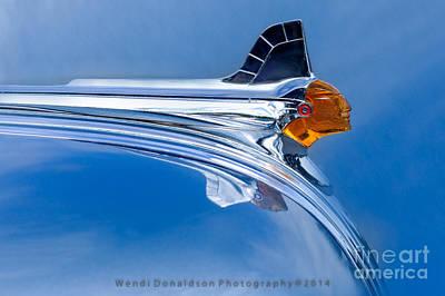 Car Insignia Photograph - Pontiac by Wendi Donaldson Laird