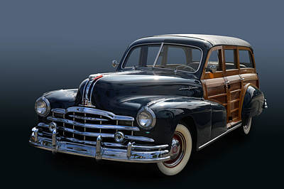 Photograph - Pontiac Woody by Bill Dutting