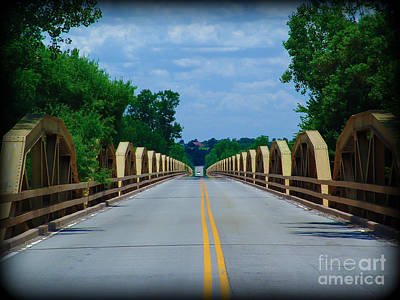 Photograph - Pony Bridge 2 by Jim McCain