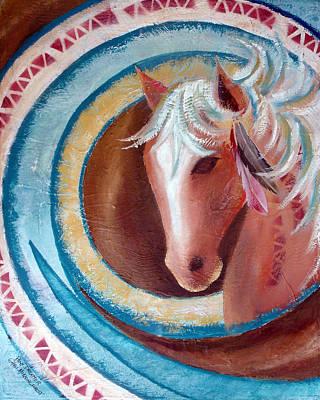 Pony Dreamer Art Print by Chris Morningforest