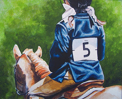 Painting - Pony Girl by Kathy Laughlin