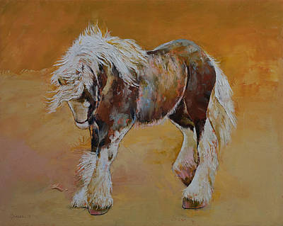 Gypsy Pony Art Print by Michael Creese