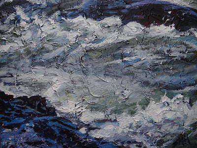 Painting - Pony Pasture Rapids 1 by Sheila Holland