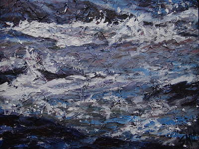 Painting - Pony Pasture Rapids 2 by Sheila Holland
