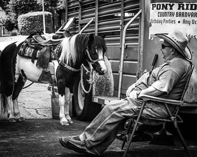 Pony Ride Art Print
