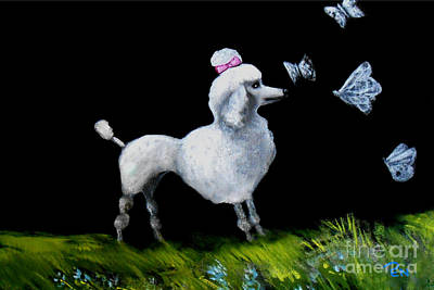 Indi Painting - Poodlefly by Life of Pen