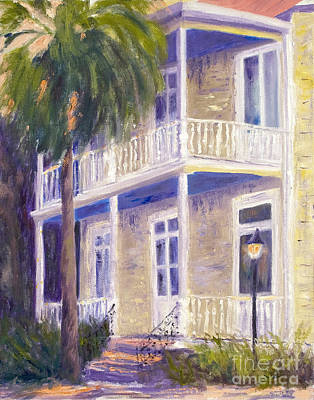 Poogan's Porch Art Print by Patricia Huff