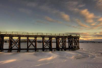 Cp Rail Photograph - Pool 6 Loading Pier East View by Jakub Sisak
