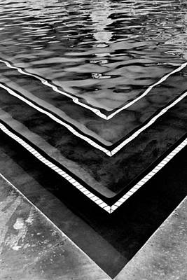 Photograph - Pool Abstraction Palm Springs by William Dey