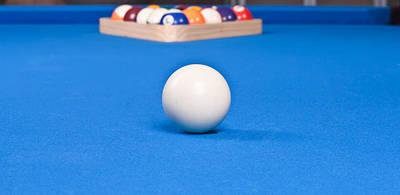 Photograph - Pool Balls by Marek Poplawski