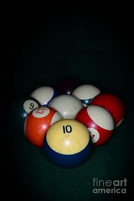 9 Ball Photograph - Pool Balls by Paul Ward