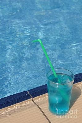 Curated Weekender Tote Bags - Pool cocktail by Luis Alvarenga