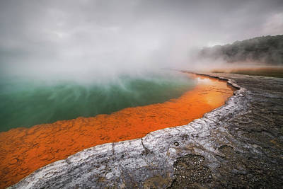 New Zealand Photograph - Pool Of Hell by Tim Fan