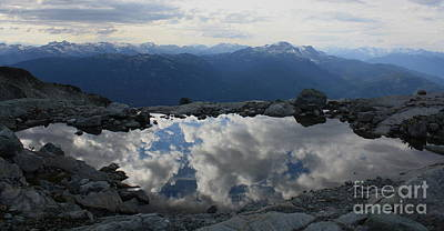 Photograph - Pool On Horstman's Glacier by Amanda Holmes Tzafrir