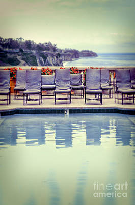 Photograph - Pool With Views Of The Ocean by Jill Battaglia