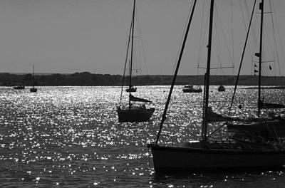 Photograph - Poole Harbour by Steven Poulton
