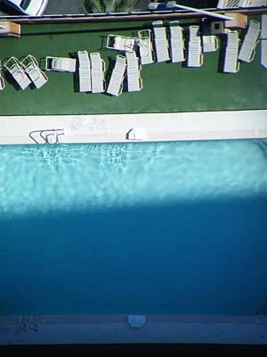 Poolside Upside Art Print by Brian Boyle