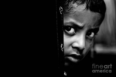 Photograph - Poor Child by Venura Herath